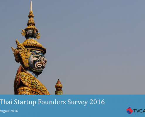 Thai Startup Founders Survey 2016