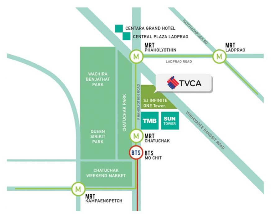 TVCA map
